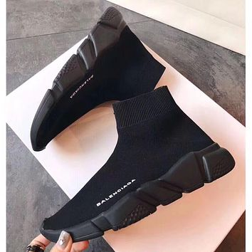 Balenciaga Woman Men Fashion Sport Sneakers Shoes