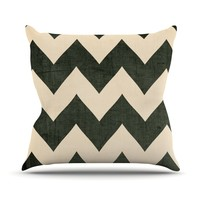 "Catherine McDonald ""Vintage Vinyl"" Throw Pillow"