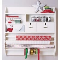 Wall-Mounted Craft Organizer