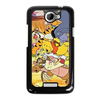 WINNIE THE POOH AND FRIENDS Disney HTC One X Case Cover