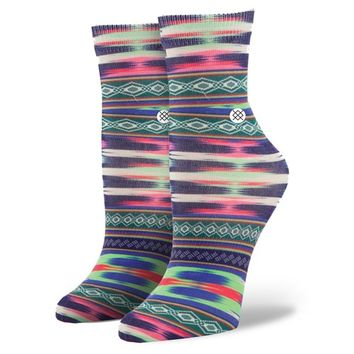 Stance | Crazy Eights Cream, Green, Purple socks | Buy at the Official website Main Website.