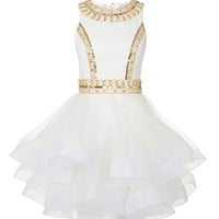 Forever Unique Jessica Dress in Ivory - New In