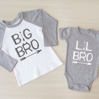 Big Brother Little Brother Matching Shirt. Big Brother Outfit. Big Brother Raglan Shirt. Siblings Shirt. Little Brother Outfit. Little Bro