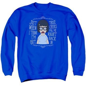 Bobs Burgers - Pull Me In Adult Crewneck Sweatshirt Officially Licensed Apparel
