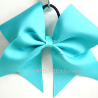 3 Wide Practice Bow  Teal by BowsWithAttitude on Etsy