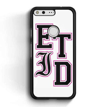 Every Time I Die Varsity Letters Google Pixel Case