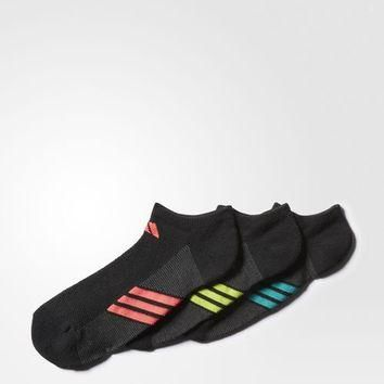 adidas Climacool Superlite No-Show Socks 3 Pairs - Black | adidas US