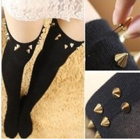 Japanese kawaii rivet stockings