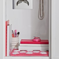 Pink Dottie Locker Rug