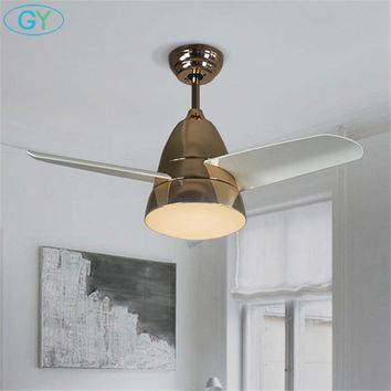 Designer lamp Nordic LED ceiling fan