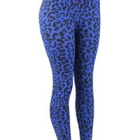 Jiuyu Women's Plus Size Leopard Print Spandex Tights
