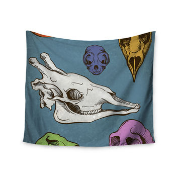 "Sophy Tuttle ""Skulls"" Wall Tapestry"