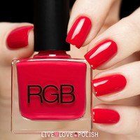 RGB Too Red Nail Polish (Core Collection)