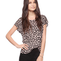 Shredded Spine Leopard  Top | FOREVER21 - 2000035815