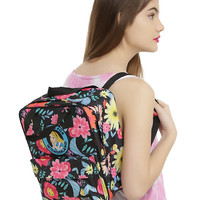 Loungefly Disney Alice In Wonderland Floral Mini Briefcase Backpack