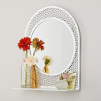 Chantilly Mirror (White) in Mirrors | The Land of Nod