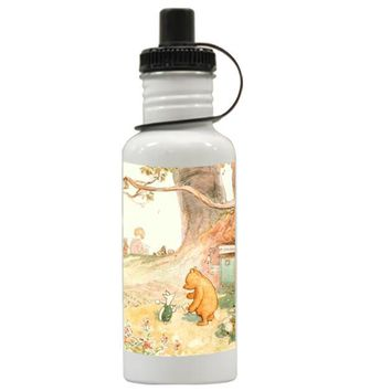 Gift Water Bottles | Winnie The Pooh Classic Aluminum Water Bottles