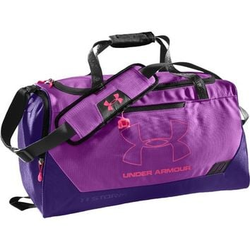 Under Armour® Hustle Small Duffel