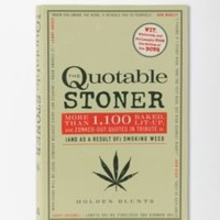 UrbanOutfitters.com > The Quotable Stoner By Holden Blunts