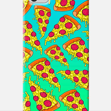 PIZZA iPhone Case, PIZZA Slice iPhone case, Simpsons style iPhone case, 90s illustration, cool Phone case, pizza party phone case, lol case