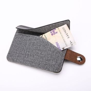 Credit Card Wallet Money Clip Magnet Men Wallet Pocket