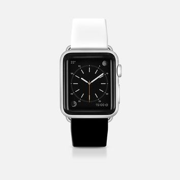 White and black Apple Watch Band (42mm)  by WAMDESIGN | Casetify