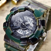 Gift Awesome Great Deal Designer's New Arrival Stylish Trendy Good Price Electronic Sports Men Waterproof Multi-function Watch [10816522691]