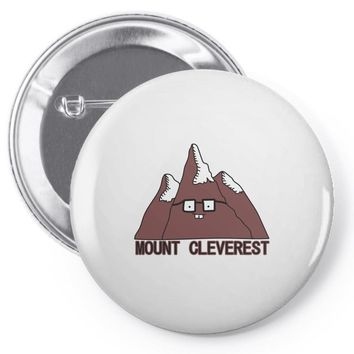 mount cleverest Pin-back button
