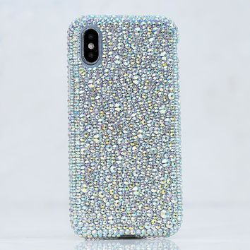 Mixed Sizes Aurora Borealis Crystals Design (style 919)