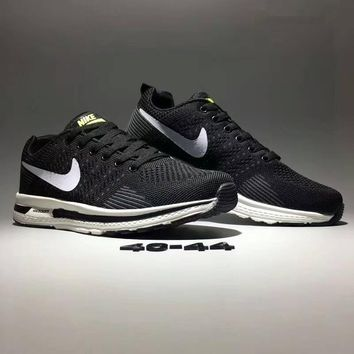 """Nike Zoom"" Men Sport Casual Flywire Sneakers Light Running Shoes"