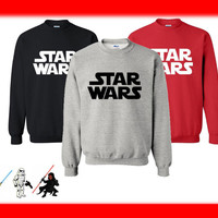 Star Wars Unisex Fan Crew Neck Sweatshirt