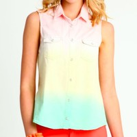 Rainbow Sherbert Top