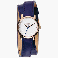Nixon Kenzi Wrap Watch Cobalt/Rose Gold One Size For Women 25953521701