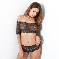 Cute Hot Deal On Sale Hot Sale Sexy Ladies Lace Underwear Set Exotic Lingerie [11850013327]