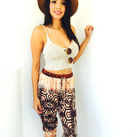 Jaliyah Boho Pants- Tribal