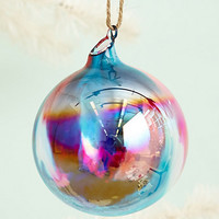 Marbled Glass Ornament