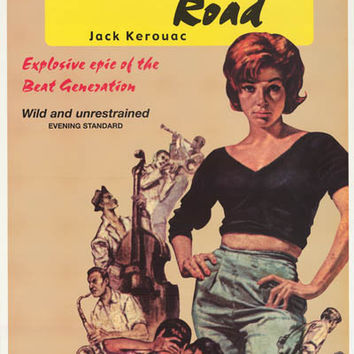 Jack Kerouac On the Road Book Cover Poster 24x36