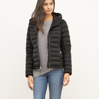 A&F Down Series Hooded Lightweight Puffer Jacket