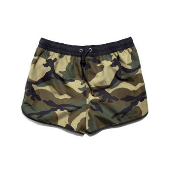 CAMOUFLAGE SWIM SHORTS - Swimwear - Man - ZARA United States