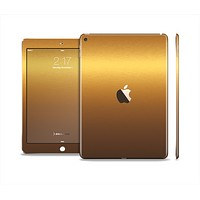 The Gold Shimmer Surface Skin Set for the Apple iPad Pro