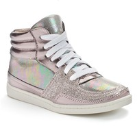 Candie's Girls' Embellished High-Top Sneakers
