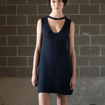 Hand Knit Cutout Dress