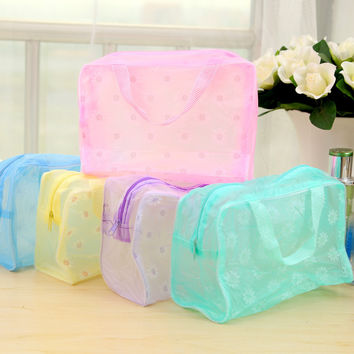 Korean Fashion Waterproof Stylish Storage Stuff Bag Toiletry Kits = 4877796484