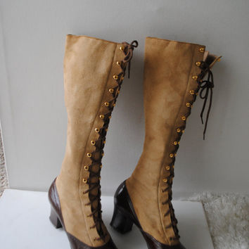 a536b969263cc Best Victorian Lace Up Boots Products on Wanelo