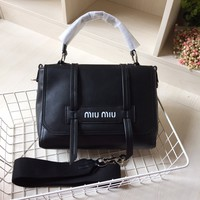 MIU MIU  Clutch  bag black