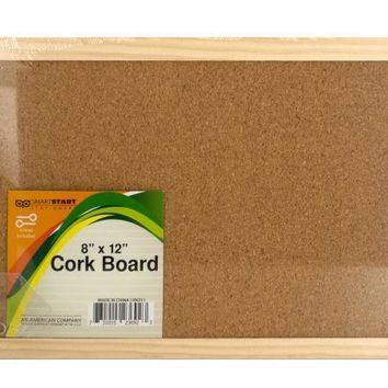 Wood Framed Cork Board (Available in a pack of 12)