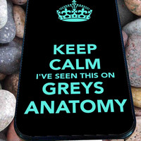 Grey's Anatomy Pattern for iPhone 4/4s, iPhone 5/5S/5C/6, Samsung S3/S4/S5 Unique Case *99*