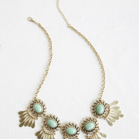 Boho Refined and Radiant Necklace by ModCloth