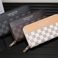 LV Long leather fashion Zipper Wallet [305692475421]
