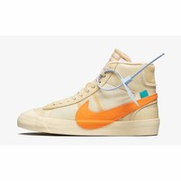 Nike Blazer Mid Off-White All Hallows Eve #AA3832-700